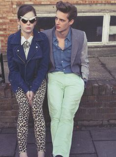 are those mint pants? couple love