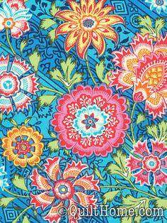 Lark PWAB075-Blue Sky Fabric by Amy Butler