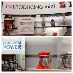 Introducing the new Mini KitchenAid Stand Mixer at the International Home & Housewares Show, 2016 - The Culinary Cellar