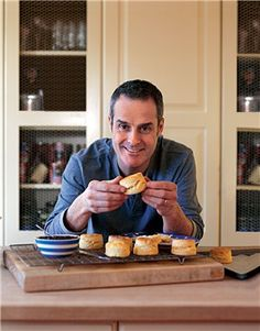 Wheat free scones by Phil Vickery