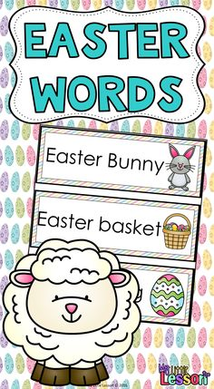 FREEBIE!  These Easter Words can be used to create a Easter Word Wall in your classroom! A word wall can be a great resource while your students do some Easter writing!  This Product Contains:  •9 Easter word cards with matching Easter pictures.
