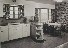 1950s Kitchen | ... kitchens -- and an important kitchen sinks still offered today - Retro