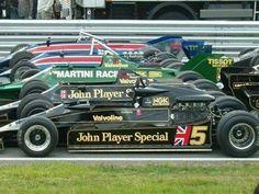 Years of Lotus. F1 Lotus, Mario Andretti, Formula 1 Car, Old Race Cars, Sport Cars, Motor Sport, Classic Motors, Racing Stripes, F1 Racing