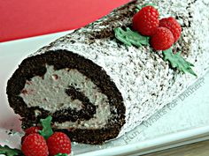 Hun... What's for Dinner?: 12 Cakes of December- Chocolate Roll with Candy Cane Whipped Cream
