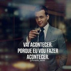 Discover recipes, home ideas, style inspiration and other ideas to try. Frases Suits, Suits Quotes, Harvey Specter Suits, Suits Harvey, Suits Serie, Red Quotes, Work Motivation, Motivational Phrases, Positive Thoughts