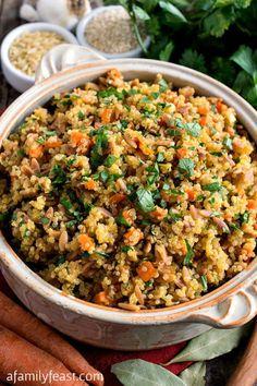 Quinoa Pilaf - A hea
