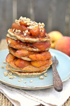 Peach Poppyseed Pancakes 1