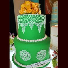 Wedding cake by angelyns cake 3 wedding cakes pinterest new wedding cake by goldilocks bakeshop publicscrutiny Gallery