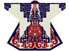 一番の日本人!【Ainu Tribe: Japanese Race】Re-design of Ainu pettern Japanese Textiles, Japanese Prints, Japanese Kimono, Japanese Art, Ainu People, Modern Primitives, Modern Kimono, Iranian Women Fashion, Kimono Design