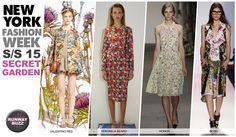 Spring 2014 secret garden print trends