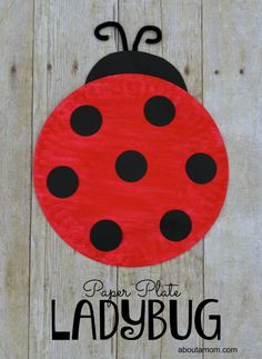 Ladybug Craft for Kids Fun and easy ladybug craft for kids to make! This easy paperplate ladybug is a great activity for a spring unit!Fun and easy ladybug craft for kids to make! This easy paperplate ladybug is a great activity for a spring unit! Arts And Crafts For Teens, Spring Crafts For Kids, Crafts For Kids To Make, Summer Crafts, Craft Kids, Kids Diy, Ladybug Art, Ladybug Crafts, Classroom Crafts