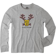 Life is Good Boys Toddler Longsleeve Tee Plaid to The Bone