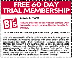 Free 60-Day Membership to BJ's Wholesale Club   http://www.thefreebiesource.com/?p=53348