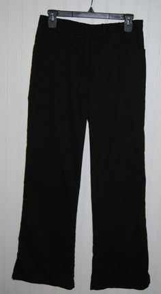 Greys Anatomy Women's Small Scrub Pants Black Style 4232 #GreysAnatomy