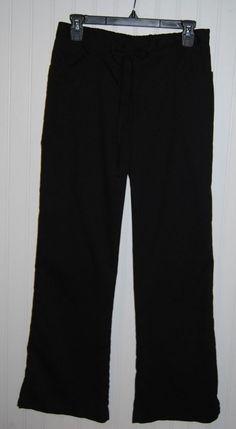Greys Anatomy Women's Small Scrub Pants Black Style 4232 #GreysAnatomy