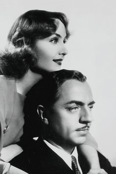 "Carole Lombard and William Powell . ""My Man Godfrey"" - 1936 Hollywood Couples, Old Hollywood Glamour, Hollywood Actor, Golden Age Of Hollywood, Vintage Hollywood, Hollywood Stars, Classic Hollywood, Hollywood Icons, Carole Lombard"