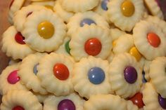Xmas Cookies, Cupcake Cookies, Biscuits Russes, Biscotti Cookies, Sweet Cupcakes, Christmas Candy, Finger Foods, Food Art, Cookie Recipes