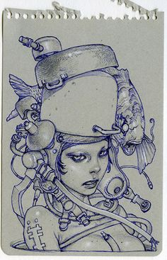 GR2: Katsuya Terada Hot Pot Girls Art | da giantrobotmag