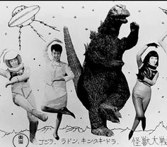 one of the more silly phases of Godzilla...... Still epic.