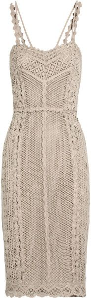 Love this: Crocheted Cotton Dress