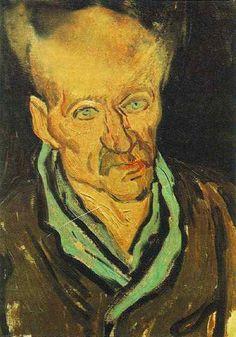 Vincent van Gogh: The Paintings (Portrait of a Patient in Saint-Paul Hospital) 1889