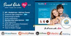 Sweet Date v3.1 – More than a WordPress Dating Theme