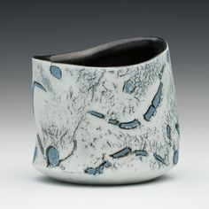 James Whiting - Cup with blue inlay