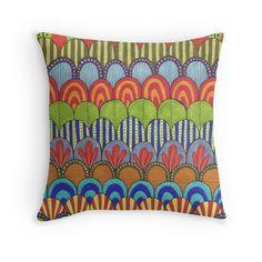 bright scalloped pattern