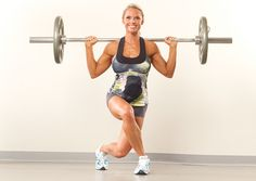 Oxygen Women's Fitness | Training | Get Your Rear in Gear!    I LUV curtsy squats!