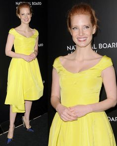 Jessica Chastain at the 2014 National Board of Review Awards Gala held at Cipriani 42nd Street in New York City on January 7, 2014