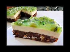 Cheesecake Rapid cu Dulceață de Kiwi ⋆ Dalida Cuisine