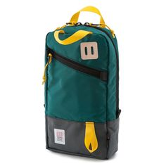 Topo Designs Trip Pack from Izola Backpacking Gear, Hiking Gear, Edc, Commuter Bag, Ipad Bag, Convertible Backpack, Herschel Heritage Backpack, Backpack Bags, Travel Bag