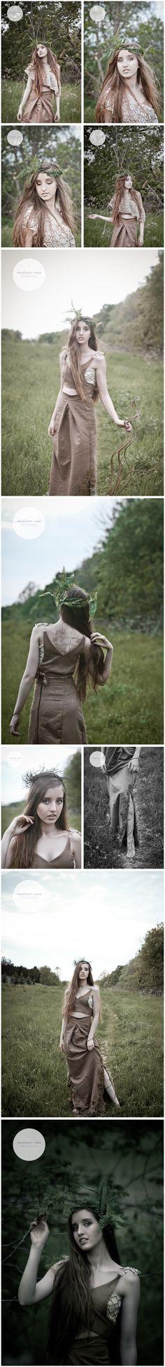 hamadryad concept photography by Madison Rose Photography in Hamilton, Ontario #fashion #style #photography #concept #mythological
