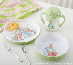 Baby's First Peter Rabbit™ Tabletop Gift Set | Pottery Barn Kids