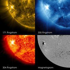 Potente llamarada solar alcanza la Tierra - Active Region on the Sun Emits Another Flare