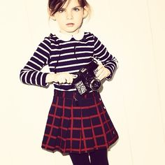 So Sixties Chic.  Petit Bateau A/W14  Shop Online at Elias & Grace