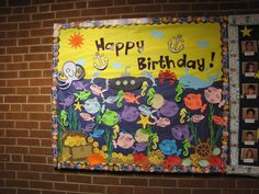 Birthday Bulletin Board (Ocean Theme)