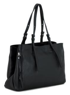 Gianni Chiarini zweigeteilte Handtasche Twin Nero Leder schwarz - Bags & more Twin, Bags, Fashion, Pouch, Hand Bags, Leather, Black, Handbags, Moda