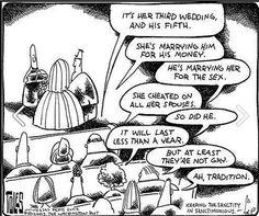 Tradition? Reason? superficial shepherding?!