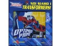 Noi siamo i Transformers! Libro puzzle #Ciao