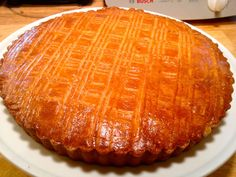 Authentic Gateau Breton ~ Butter cake/pastry from the Brittany region of France
