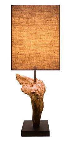 Charlotte Driftwood Lamp