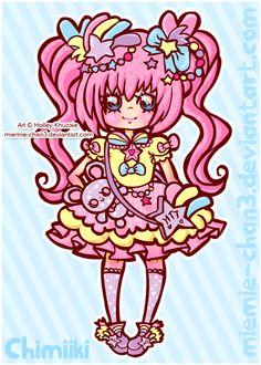 Kawaii fairy-kei Chimiiki-chan by miemie-chan3.deviantart.com on @deviantART #fairykei | #sweetlolita