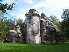 The Adršpach-Teplice Rocks