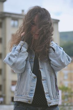 CRIS | por Abraham Roál. Sesión Photoshoot Model Street style Denim Girl moda mujer.