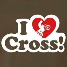i love cross! enduro Shirt