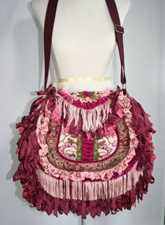 Handmade Victorian Bohemian Gypsy Handbag by TurtleDoveBags, $238.00