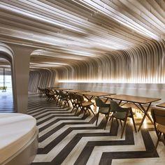 Bangkok University Student Lounge by Supermachine Studio