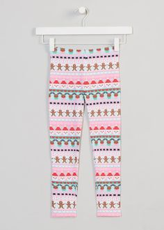 7804bf19326e2 Girls Printed Christmas Leggings (3-13yrs)