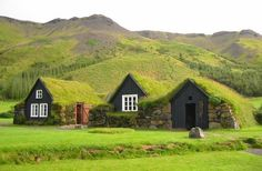 turfhouses (Now this is a great sod cabin!)